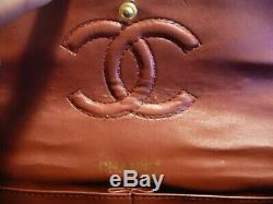 Sac Chanel timeless vintage periode 1980