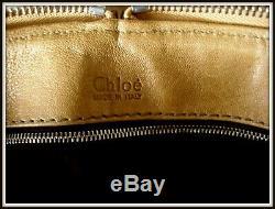 Sac Chloé Paddington cuir made Italie bag borsa vintage