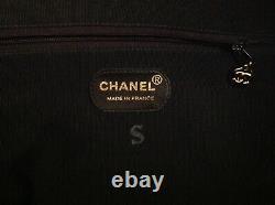 Sac De Voyage Chanel Vintage Veau Graine Noir