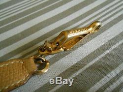 Sac Hermes Trim grand modèle 38cm vintage en cuir gold