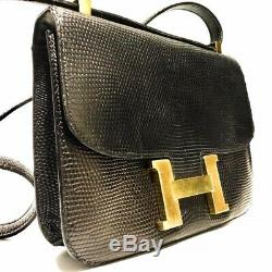 Sac Hermès Vintage Constance Lézard