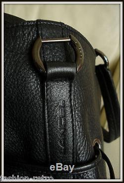 Sac Lancel Premier flirt cuir noir Made France! Modèle vintage bag borsa