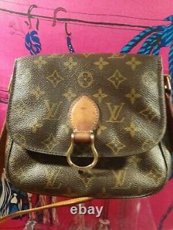 Sac Louis Vuitton Saint Cloud Vintage avec facture
