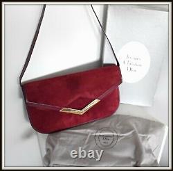 Sac Pochette Christian Dior Boite et housse d'époque bag borsa vintage ancien
