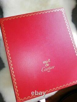 Sac Sceau Must De Cartier Bordeau Lié De Vin Vintage