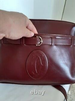 Sac Vintage Bandoulière Must de Cartier en Cuir Must De Cartier Shoulder Leather