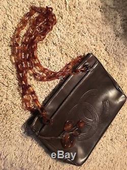 Sac Vintage Chanel tbe cuir Numéroté Livraison Gratuite