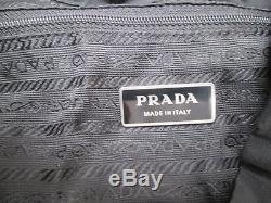 - Sac à dos noir PRADA toile TBEG vintage bag