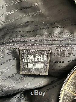 Sac à main Jean Paul GAULTIER Cuir VINTAGE 1999-2005 Collection Rare