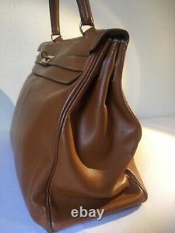 Sac à main Kelly Hermes vintage 35 cm