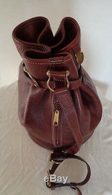 Sac à main en cuir Mulberry TBEG authentique (réf 631229) & vintage Bag