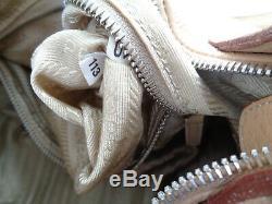 Sac à main en cuir PRADA (Italy) TBEG authentique (réf113 -10) & vintage Bag