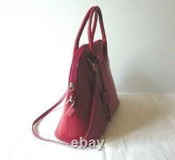Sac à main en cuir grainé LANCEL style Bolide French Vintage Leather Handbag
