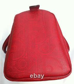 Sac à main rouge DIOR Handbag VINTAGE 1970