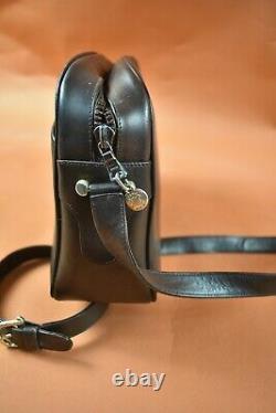 Sac à main vintage cuir marron Céline Paris