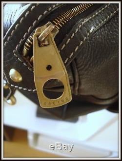 Sac caba/speedy Celine made Italie cuir noir vintage bag