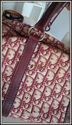 Sac christian Dior vintage année 80 toile monogramme bag borsa