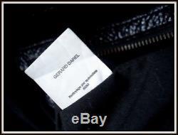 Sac gérard Darel nud edition limitée cuir noir vintage bag