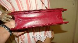 Sac pochette à soufflet bandoulière Yves Saint Laurent Rive gauche vintage 80's