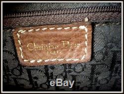 Sac sadlle Christian Dior Cuir tissu made Italie bar borsa vintage