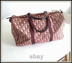 Sac speedy Christian Dior monogramme vintage 90 bag borsau