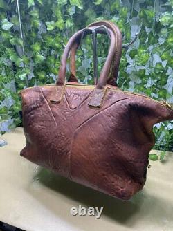 Sac vintage Easy en cuir marron Yves saint Laurent très bon. État