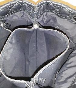 Superbe sac Christian Dior cuir d'agneau noir Vintage