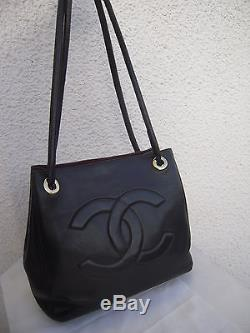 Superbe sac à main cuir CHANEL(made in France)TBEG Authentique & vintage Bag