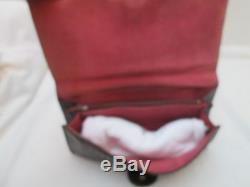 Très élégant sac style pochette cuir reptile vintage TBEG bag