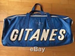 Veritable Sac Cuir Ligier Gitane F1 vintage