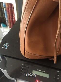 Véritable sac Hermes modèle market couleur gold, vintage