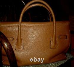 - Vintage Magnifique SAC Cabas Longchamp Camel Tout Cuir int. Ext