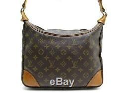 Vintage Sac A Main Louis Vuitton Boulogne 30 CM Monogram Cuir Leather Bag 900