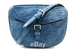 Vintage Sac A Main Louis Vuitton Jeune Fille Gm Besace Cuir Epi Hand Bag 1080