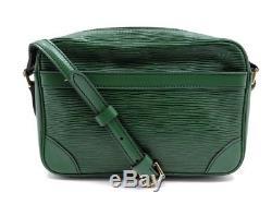 Vintage Sac A Main Louis Vuitton Trocadero 23 Bandouliere En Cuir Epi Bag 1240