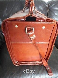 Vintage Sac de voyage week-end Valise en cuir