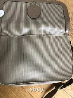 Yves Saint Laurent YSL Paris PVC cuir Handbag Vintage 1980 luxe RARE sac à main